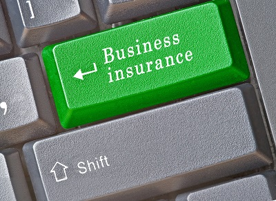 Business Insurance Button on a Keyboard