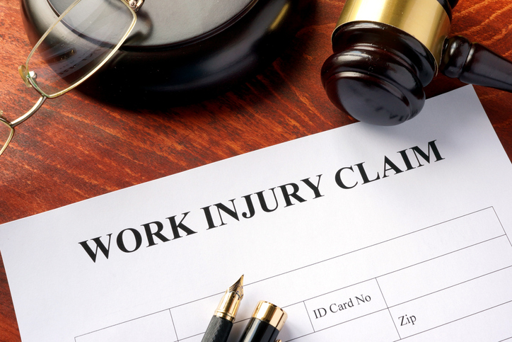 image of worker comp claim form