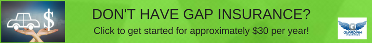 gap insurance quote banner ad