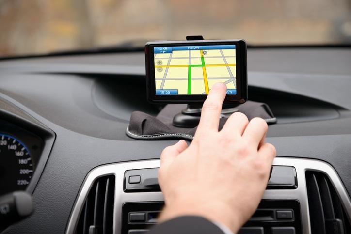 GPS Device in Car