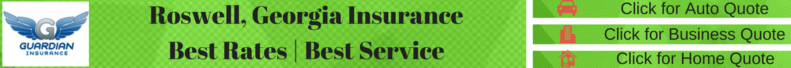 banner ad for insurance quote for Roswell, Georgia