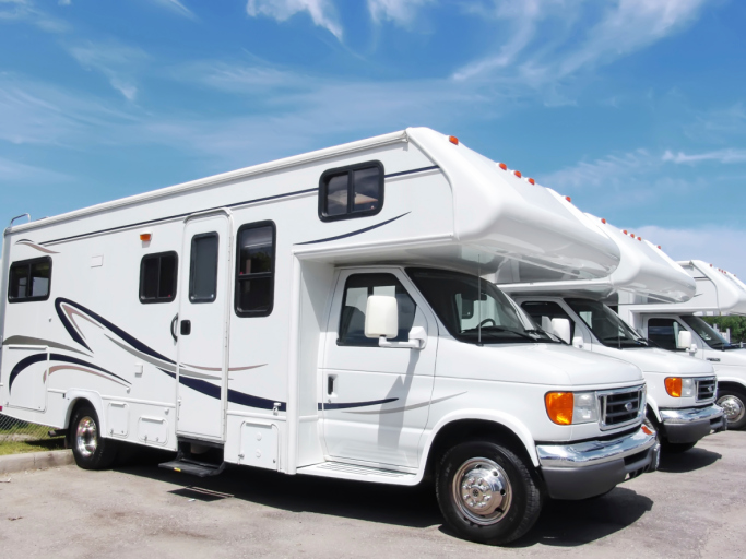 RVs for Sale on the Lot